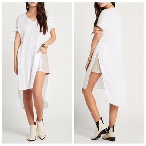 BCBGeneration Side Slit Caftan Tunic